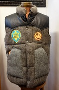 A Love Movement / Harris Tweed Vest【SEDONA】