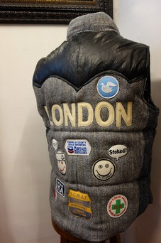 A Love Movement / Harris Tweed Vest【LONDON】
