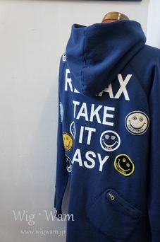 A Love Movement Parka 【Navy】 #15 <L>