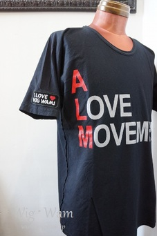 A Love Movement × Wig Wam TEE   (A LOVE MOVEMENT)