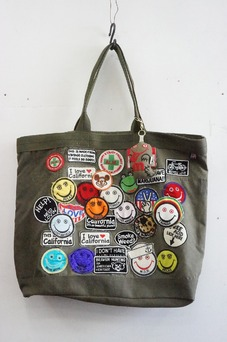 A Love Movement Military Tote + Key Chain