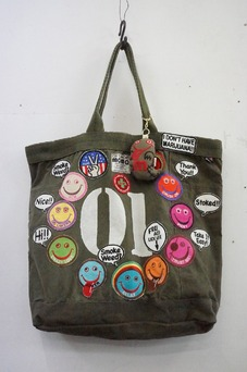 A Love Movement Military Tote Bag + Key Chain 【01】
