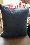 Ortega's Pillows 18inch Green Heather
