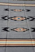 Ortega's Weaving Rugs Grey Heather