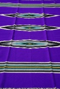 Ortega's Weaving Rugs Purple