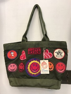 A Love Movement Military Tote