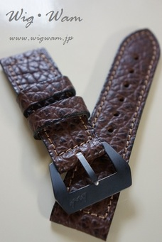 PANERAI Use Dirk-Straps Shark(OliveBrown)125/80 #2