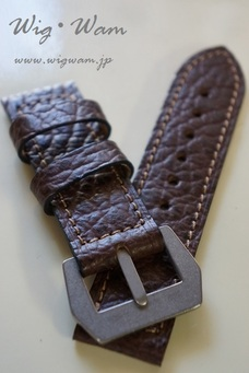 PANERAI Use Dirk-Straps Shark(OliveBrown)125/80 #5