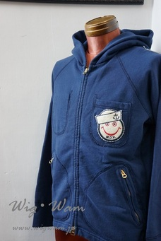 A Love Movement Parka 【Navy】 #6 <M>