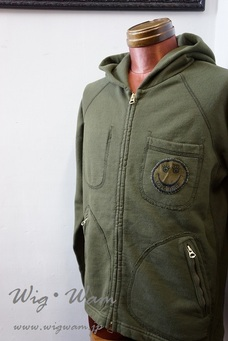 A Love Movement Parka 【Olive】 #9 <M>
