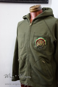 A Love Movement Parka 【Olive】 #10 <M>