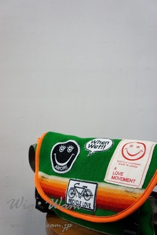 A Love Movement Messenger Bag Green